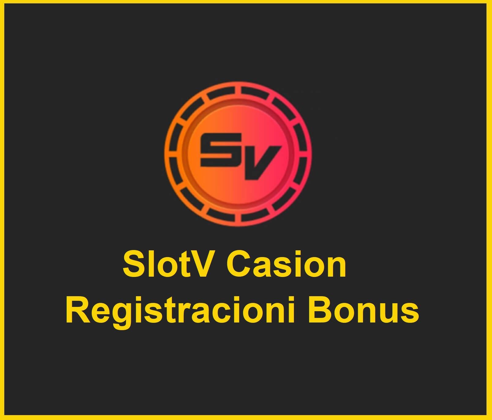 SlotV casion registracioni