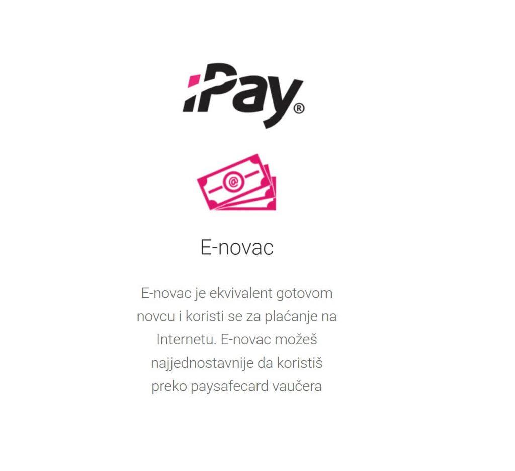 E-novac je ekvivalent gotovom novcu i koristi se za plaćanje na Internetu. E-novac možeš najjednostavnije da koristiš preko paysafecard vaučera