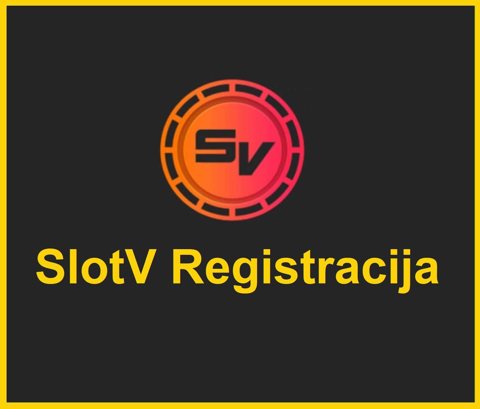 Slot V Registracija
