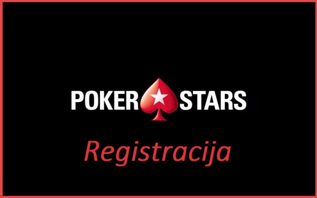 Poker Stars registracija