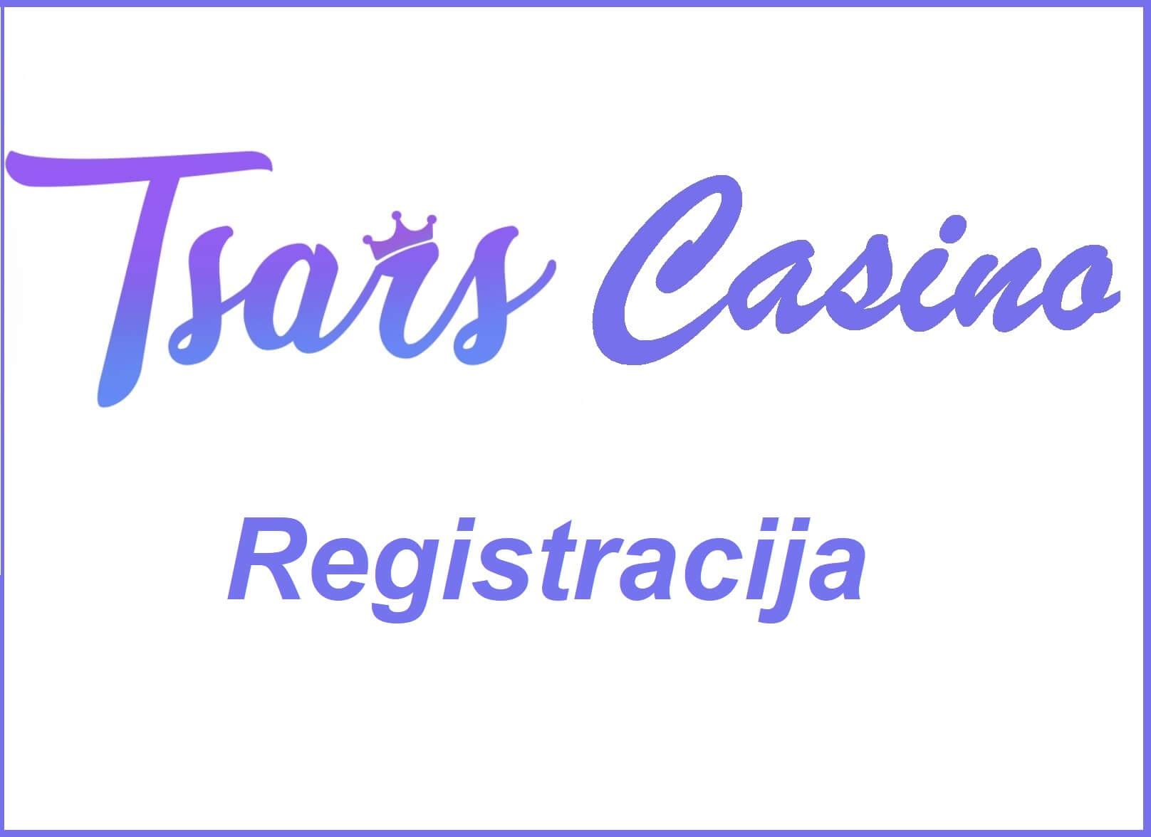Tsars Registracija