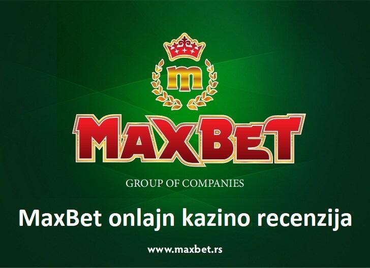 MaxBet onlajn kazino recenzija