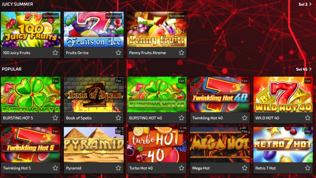 Star Bet onlajn kazinu