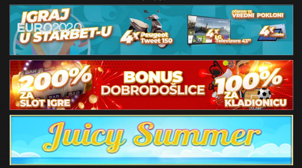 Star Bet Bonusi i promocije