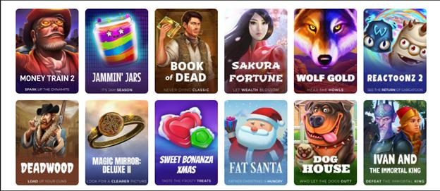 Које казино игре Wisho нуди?