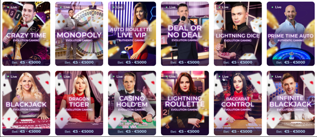 Wisho казино уживо – шта нуди?